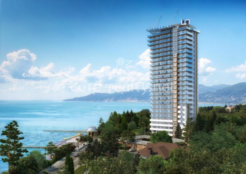 Многоэтажные отели в сочи у моря